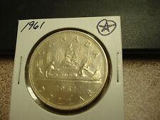 1961 - Canada silver dollar - Canadian
