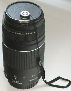 Canon EF Lens 75-300 mm