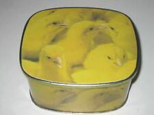 Poussins chicks boîte Côte d'or chocolats Pâques blikkendoos Paas kip