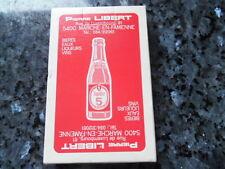ancien jeu de carte publicitaire brasserie pierre libert