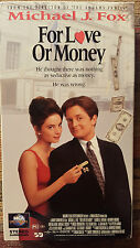 For Love or Money (VHS, 1994)