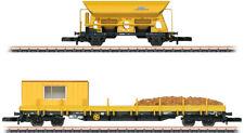 Marklin Z 82425 Type Res 4 Stake and Fcs Dump Work Car Set w/Kits