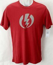 NEW Electric Standard Volt Red Mens XL Snow Skate Cotton Tee Shirt Msrp$22