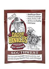 Daddy Hinkle's - Southwest Marinade Single Serve Packets (24 Packets)