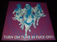 DRAGONTEARS 33RPM LP TURN ON TUNE IN FUCK OFF ROCK GARAGE BABY WOODROSE BAD AFRO