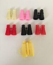 Barbie Ken Doll Miniature Binoculars 7 pairs Various Years Dollhouse Accessories