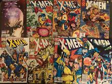 Marvels X-MEN Comic Lot Of 8 - The Astonishing #1 - Vol. 1 #11 - Uncanny -