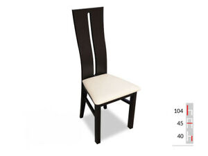 Solid Wood Chair Dining Designer Leather Room K71