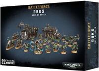 Games Workshop Warhammer 40K Ork Kult of Speed Battleforce Boxed Set