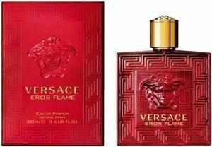 VERSACE EROS FLAME by Versace for men cologne EDP 3.3 / 3.4 oz NIB