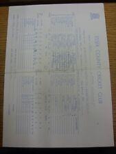 22/05/1974 Cricket Scorecard: Essex v Hampshire [At Chelmsford] 3 Day Match (sco
