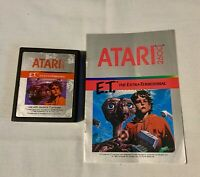Atari 2600 E.T. The Extra-Terrestrial w/manual - tested and working