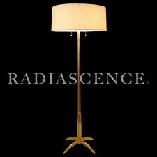 STIFFEL ATOMIC SPACE JET AGE MODERN BRASS ROCKET FLOOR LAMPS LIGHTOLIER THURSTOn