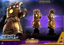 Hot Toys 1/4 Scale Infinity Gauntlet Avengers Thanos Glove W LED F Collection