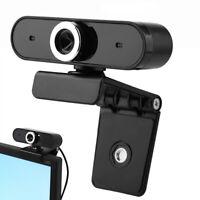 Full HD Webcam Desktop Laptop Webkamera Eingebautes Mikrofon für Videoanrufe