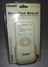 DreamGear i.Sound MultiPod Stand for Ipod White