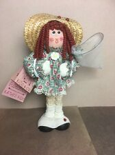 Kathy Kids -Missy Red-head Curls Doll Hand-made with Love In Laguna CA w/ Tag
