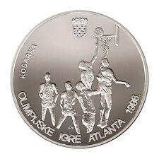 Croatia COIN- 200 Kuna, 1996, Olympics-ATLANTA- SILVER 925/ 1000- RRARE- PROFF !
