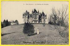 cpa 95 - US (Val d'Oise) Le CHÂTEAU de DAMPONT Violet le Duc Style Néo Gothique
