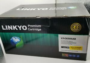 Linkyo LY-CE505AD 2 Cartridges compatible with HP LaserJet 80A CF280A FREE SHIP