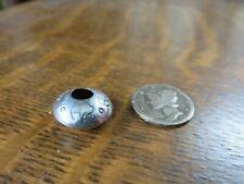 New ListingMiniature Stamped Navajo Sterling Silver Bowl - Pot - Buffalo