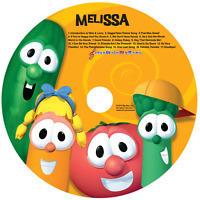 Personalized Sing Along With The VeggieTales CD - Digital Album Download Avail