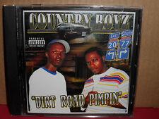 Country Boyz - Dirt Road Pimpin CD Rare RAP