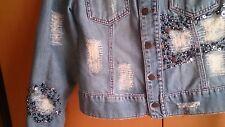 Chaqueta tejana  de mujer,talla M marca world wide women by alysi jeans