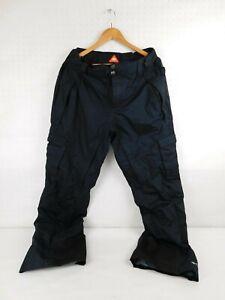 Columbia Omni Heat Tech Snow Pants Black Waterproof Breathable Gift Winter Women