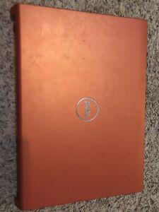 "Genuine Dell Studio 1535 1536 1537 15.6"" Orange LCD Back Cover Hinges P634X"
