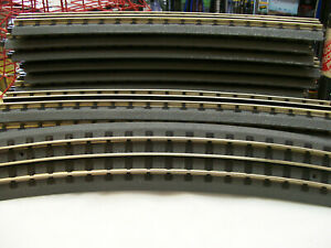 BRAND NEW MTH # 40-1082 REALTRAX 0-82 HOLLOW RAIL FULL CURVES 16 PC FULL CIRCLE