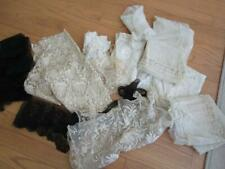 New listing Large Lot of Antique Lace Scraps/Trimmings/Applique s 1800s Possibly European