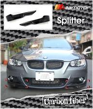 Carbon Fibre M-Tech Front Splitters for 06-09 BMW E92 E93 Pre-LCI Sport Bumper