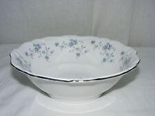 """Vintage Johann Haviland China Bavaria Blue Garland 8"""" Round Vegetable Bowl"""