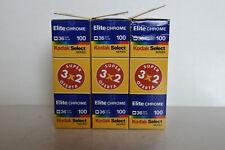 Kodak Elitechrome 100 - 9 rolls - 35mm slide film.