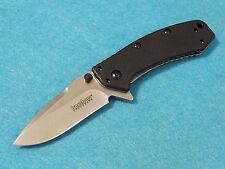 "Kershaw 1555G10 Cryo Hinderer G-10 stonewash assisted knife 3 3/4"" closed NEW!"