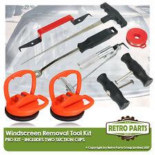Windschutzscheibe Glas Entfernung Werkzeug-Set für lancia. Saug SCHALEN Schutz