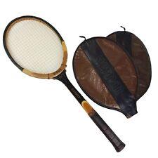 New listing Wilson Advantage Tennis Racket- Woodie-1980s-Vintage
