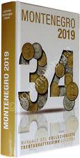 2019 Catalogo Montenegro 34ª ediz. Manuale del Collezionista di Monete Italiane