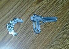 1987 Rare Vintage Bionatops gun broken He-man MOTU Masters of the Universe 1986