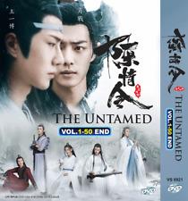 DVD CHINESE DRAMA The Untamed Vol.1-50 End English Subtitle + FREE SHIP