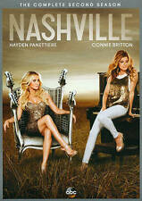 Nashville The Complete Second Season Two 2 (DVD 2014 5-Disc) Drama NEW SEALED