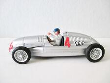 Audi Auto Union Type D 1938 (N° 4 GP Italia) Figurine Pilote - Brumm 1/43