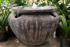 GRC Outdoor Garden Patio Water Feature Escher Jar Urn Fountain Atlantis