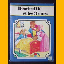 BOUCLE D'OR ET LES 3 OURS Paule Schurer J.-L. Macias sampedro 1991