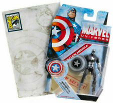 "CAPTAIN AMERICA ( 4"" ) MARVEL UNIVERSE ( SDCC EXCLUSIVE ) ACTION FIGURE #000"
