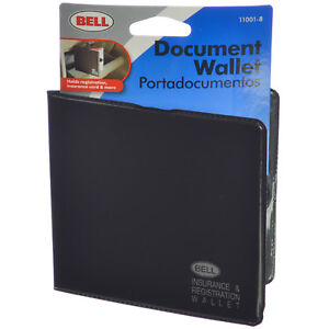 Bell Protective Document Wallet for Insurance Card & Vehicle Registration Holder