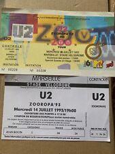 Ticket  De Concert U2