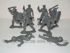 Russian riot-gear Police. 1/32.  Plastic toy soldiers