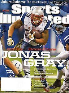 JONAS GRAY Sports Illustrated NEW ENGLAND PATRIOTS November 24 2014 11/24/14